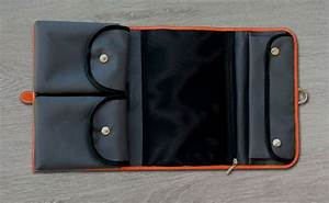 Trousse De Toilette Pour Homme : trousse de toilette homme cuir orange bonze trousse de ~ Louise-bijoux.com Idées de Décoration