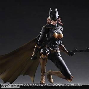 Play Arts Kai Batman: Arkham Knight Batgirl Figure - The ...
