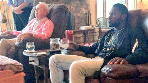Antonio Brown Visits Arnold Palmer at Hometown Course