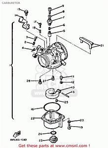 Yamaha Ss440g 1982  1983 Carburetor