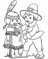 Coloring Pilgrim Pilgrims Thanksgiving Indian Printable Boy Native Sheets Sheet Americans Indians Giving Wishbone Clipart Fall Adult Turkey Colouring Crafts sketch template