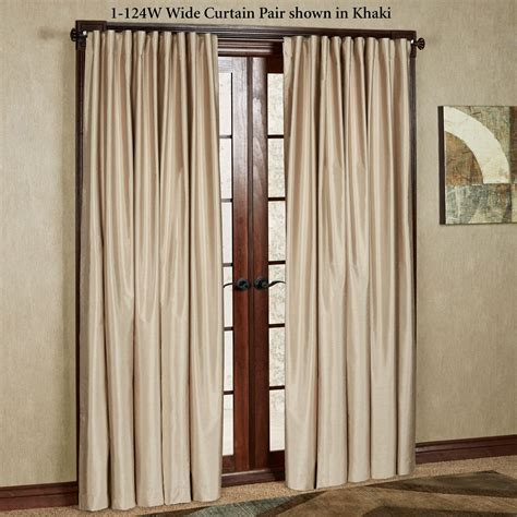 Back Tab Drapes by Fontaine Back Tab Room Darkening Curtains