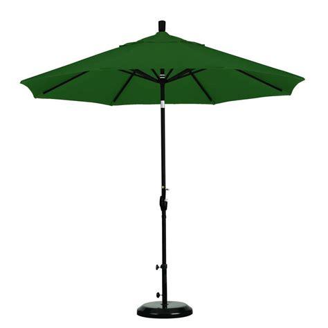 hton bay 9 ft aluminum market patio umbrella in