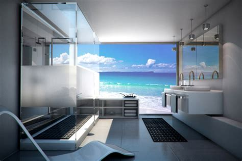 commercial bathroom design digitally printed glass welcome to the wave of the future