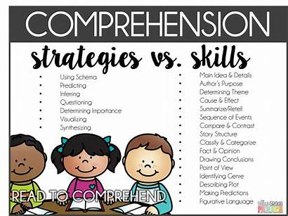 Comprehension Reading Strategies Skills Practice Learn Grade