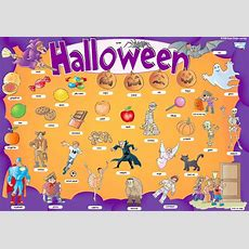 Rosana´s English Blog Halloween Poster