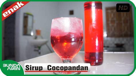 Resep sirup pertama yang akan kita pelajari adalah sirup frambozen. Resep Cara Membuat Sirup Cocopandan - Resep Minuman Es ...