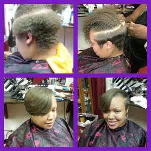Straighten Natural Hair Style