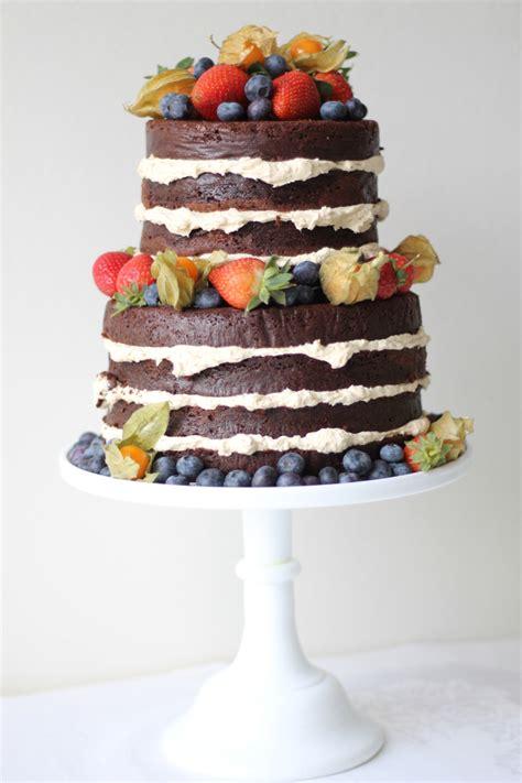 2014 Wedding Cake Trends #2 The Nake Cake  Bridal Musings