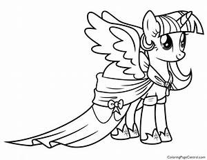 My Little Pony U2019 Princess Twilight Sparkle 02 Coloring