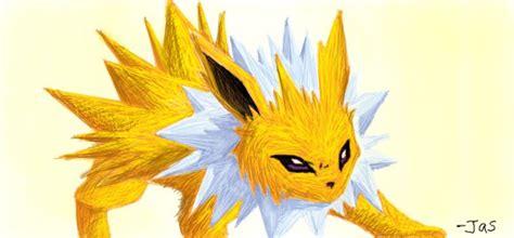 the lightning pokemon by ninjazzy