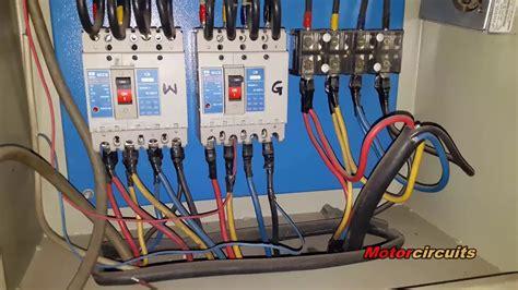 Diesel Generator Auto Start Stop Circuit With Diagram