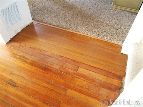 Patching & matching hardwood floors   Sawdust and Embryos