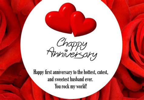 st anniversary wishes  husband  anniversary messages