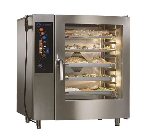 goldstein 10 tray vision combi oven themis commercial