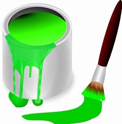 Paint Brush Clip Clipart Clker Vector Cliparts