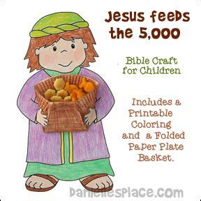 jesus feeds 5000 craft 1000 images about feeding the 5000 children s lesson 4773