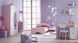 Chambre enfant complete contemporaine blanche et rose for Chambre enfant rose