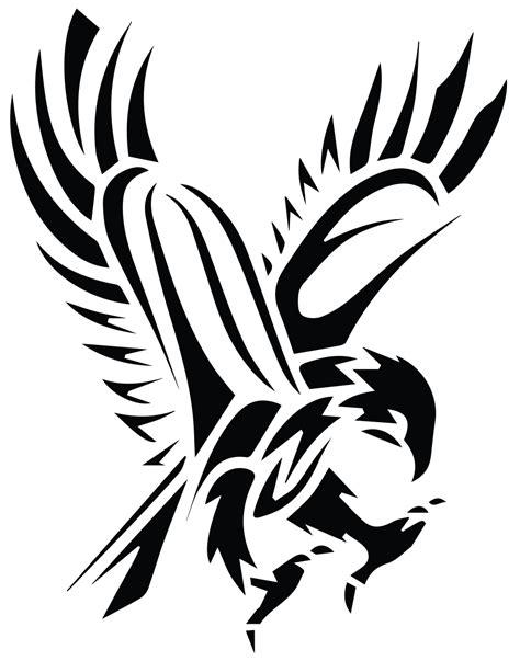 hawk png black  white transparent hawk black  white