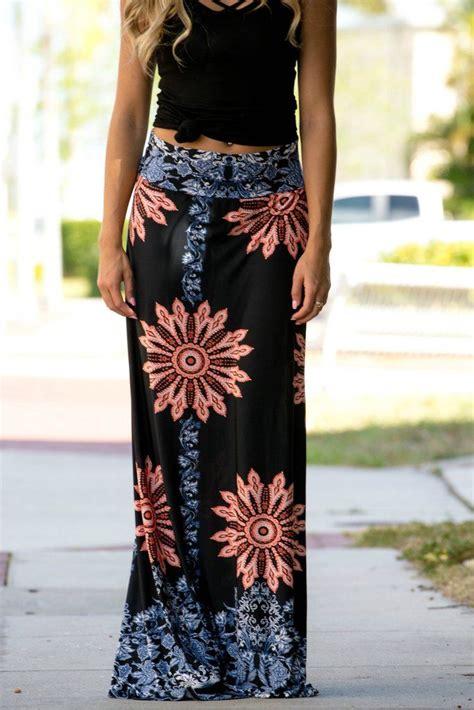 Best 25+ Long summer skirts ideas on Pinterest   Summer skirt outfits Summer beach outfits and ...