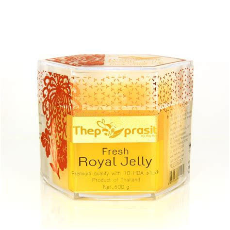 Bee Jelly 6x100ml fresh royal jelly 500g thepprasit honey shopping