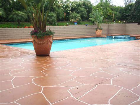 pool deck concrete resurfacing   decks  life