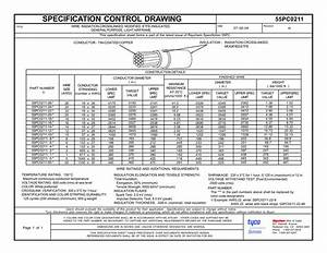 Specification Control Drawing