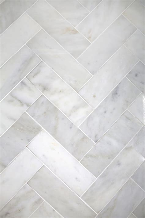 herringbone marble tile  beautiful mess bloglovin