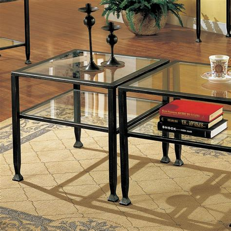 com sei bunching metal cocktail table coffee tables