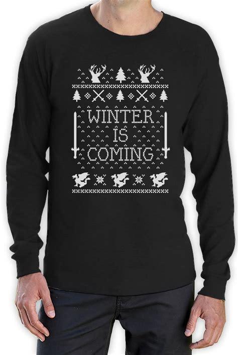 winter is coming sweater winter is coming sweater sleeve t