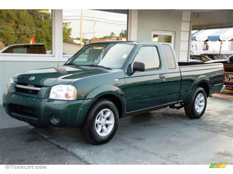 nissan green 2001 alpine green metallic nissan frontier xe king cab