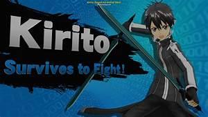 Kirito Sword Art Online Skin Super Smash Bros For Wii