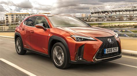 lexus ux  review  charging hybrid suv driven