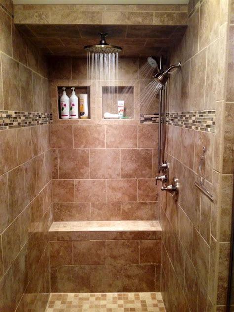 Walks In On In Shower - 23 stunning tile shower designs bathrooms