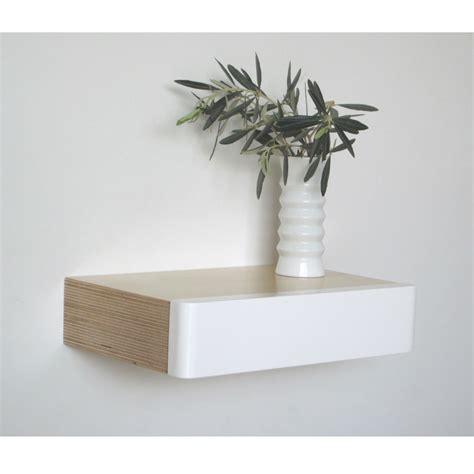 wall mounted drawer pacco floating drawer birch white homeware furniture