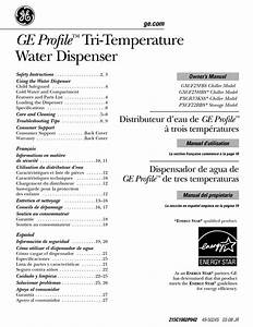 Ge Gxcf25fbs Chiller Owner U0026 39 S Manual Pdf Download