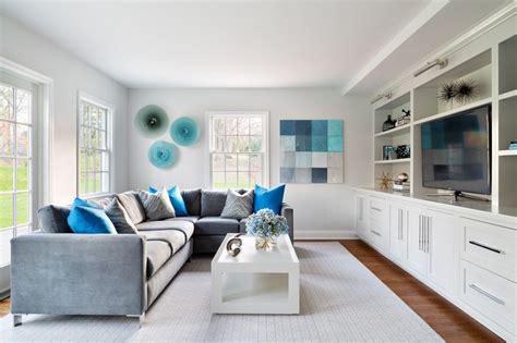 canapé bleu turquoise bleu turquoise et gris en 30 idées de peinture et