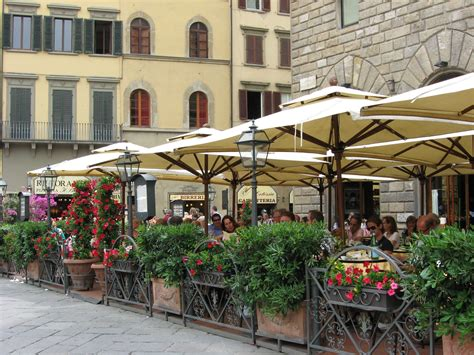 Best Lunch In Florence Italy Sidewalk Cafe In Florence Italy Places I Ve Been