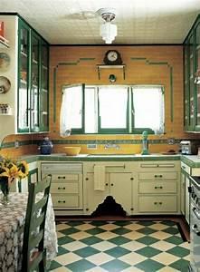 Küche Retro Stil : vintage k chenm bel im trend ~ Watch28wear.com Haus und Dekorationen