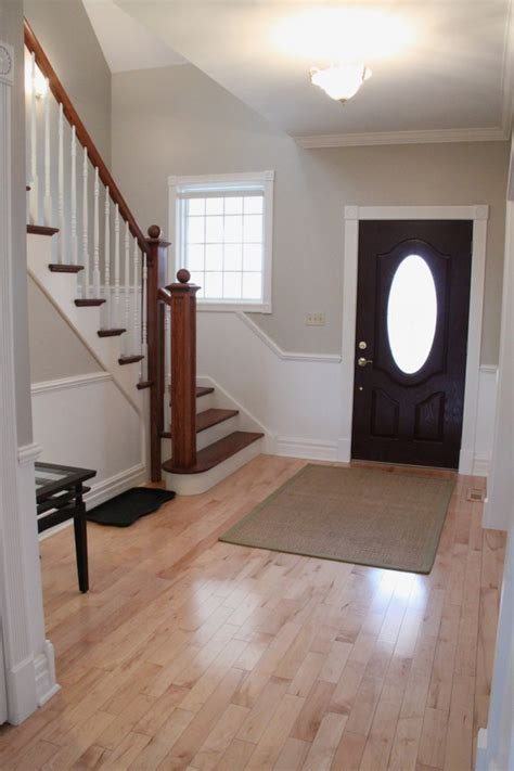 updated foyer with accessible beige by sherwin williams