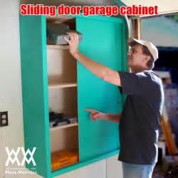 Cool Sliding door pegboard cabinet building plans ~ Patt