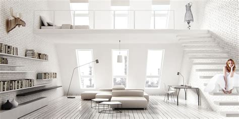 White Interior Design :  25 Design Ideas For The Color Of Light