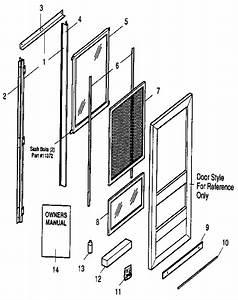 Sears 94865327231 Storm  U0026 Screen Doors Parts