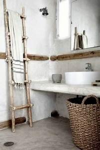 Panier De Rangement Salle De Bain : rangement salle de bain avec panier et porte serviette ~ Teatrodelosmanantiales.com Idées de Décoration
