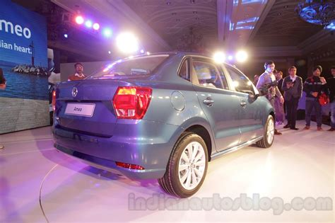 volkswagen ameo silver vw ameo unveiled in 31 images