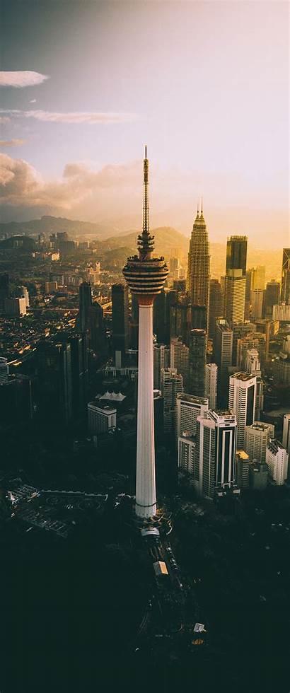 Tower Kuala Lumpur Cityscape Vertical Wallha 2560