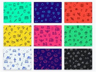 Patterns Animated Seamless Outlane Pattern Background Animation