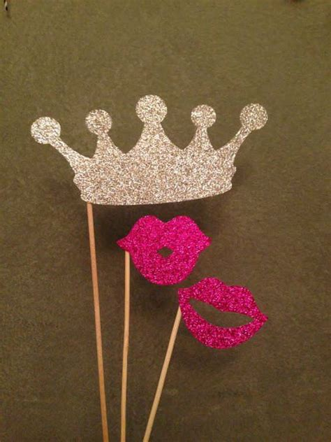 bridal shower photo booth props  wedding ideas