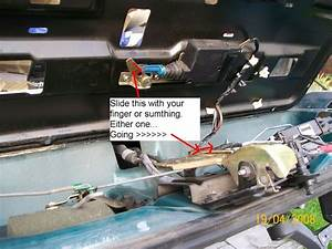 Rear Hatch Would Not Open - Page 2 - Blazer Forum