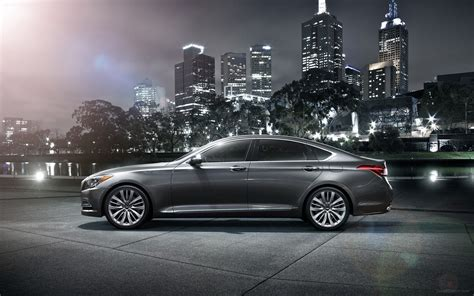 Hyundai Genesis Wallpaper by Hyundai Genesis 2015 Widescreen Car Wallpaper 33
